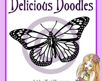 Digital Stamp - Majestic Monarch Butterfly