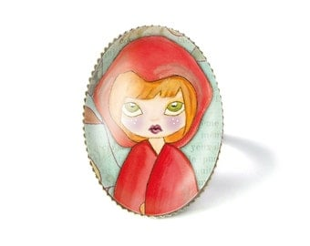 The little red riding hood ring