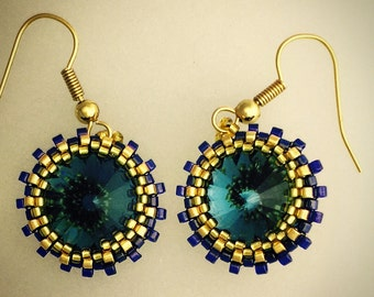Eos Earrings - made with Swarovski Elements