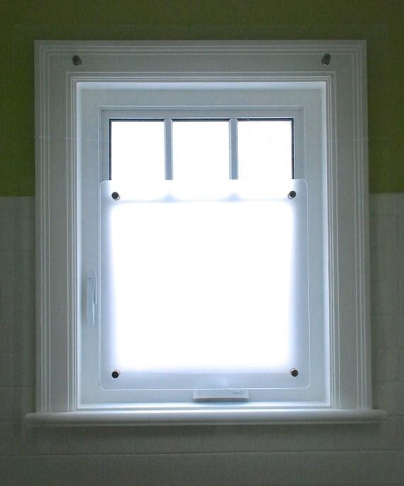 Protection pour fen tre de douche prot ge vos fen tre et Bathroom window cover ideas