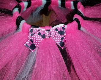 Minnie Mouse Tutu, Disney Minnie Mouse Tutu, Girls Tutu, Infant Tutu