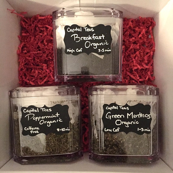 Loose Leaf Tea Storage Container by JumpinPuddlesDIY on Etsy