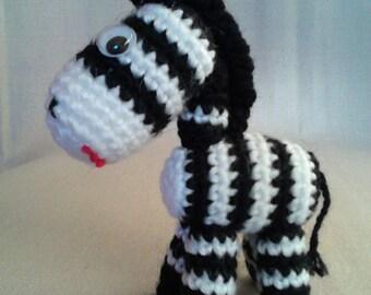 FREE SHIPPING!!!Amigurumi toys, Easter toy, Crochet zebra, toy zebra, gift zebra, gift, personalized toy, zebra