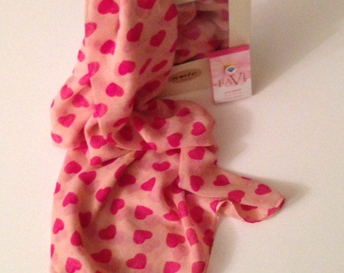 Hearts Scarf Pink Scarf Valentine Gift Ideas Pink Cotton Scarf Pink Winter Scarf Holiday Fashion Pink Hearts Scarf Pink Shawl Perfume