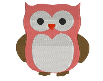 Owl Embroidery File