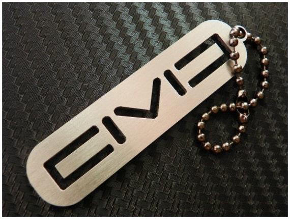 Honda Civic stainless steel keychain v2