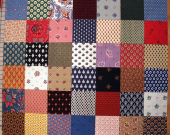 Souleiado Vintage charm pack of 42 different 5-inch quilt squares