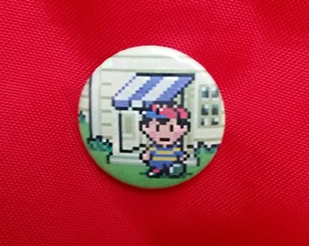 "Earthbound Ness 1"" Pin"