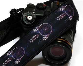 Dream Catcher Camera Strap. Photo camera Accessories. SLR, DSLR Camera Strap. Gift For Photographer.