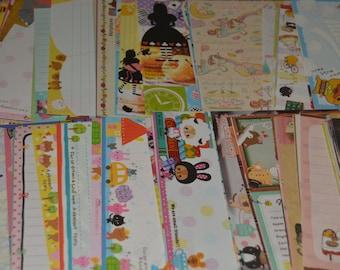 100 Kawaii Memo Sheets 4x6