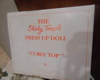 Danbury Mint Shirley Temple dress up clothes Curly Top doll