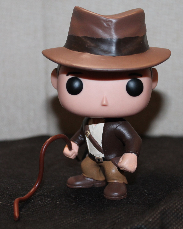 Custom Funko Pop Of Indiana Jones By Spasticcustoms On Etsy