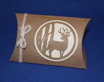 Pillow box, Deer/Nature/Woodlands