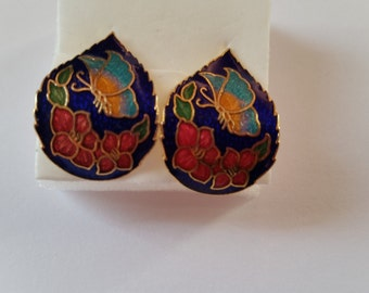 Beautiful Cloissonne Earrings