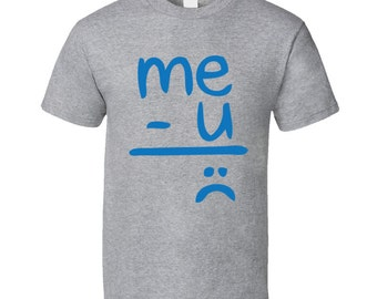 Me-minus-you-equals-sadness