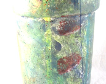 Circular Flower Vase