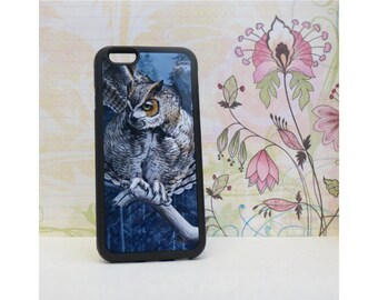 Owl - Case for iPhone 6/6S Rubber TPU