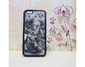 Battle of Anghiari (Da Vinci) - Case for iPhone 6/6S Rubber TPU