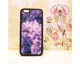 Lilacs - Rubber iPhone Case