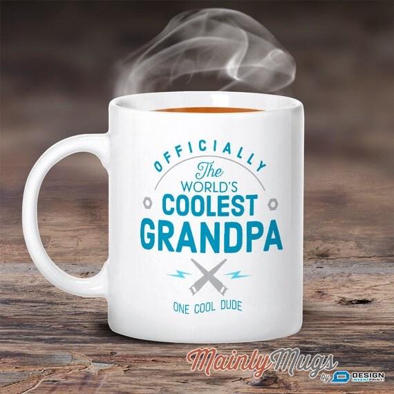 Cool Grandpa Grandpa Mug Birthday Gift For Grandpa By MainlyMugs