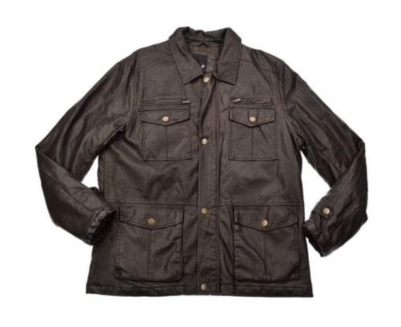 J ferrar leather jacket