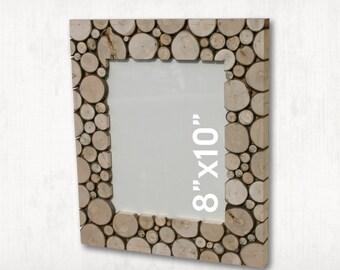Log Slice Picture Frame