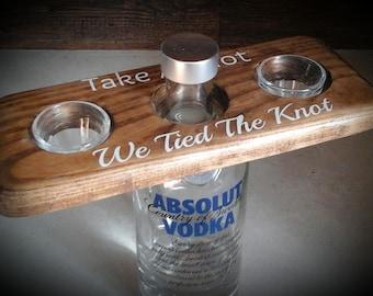 Personalized Shot Glass Paddle