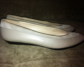Amalfi Tango Velour Suede Pointed Flats