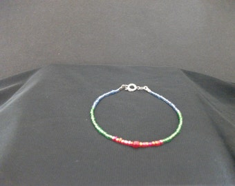 Martian Manhunter (DC Comics) Inspired Beaded Bracelet
