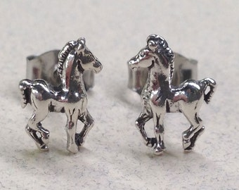 Sterling Silver Colt Studs ( New Lower Price )