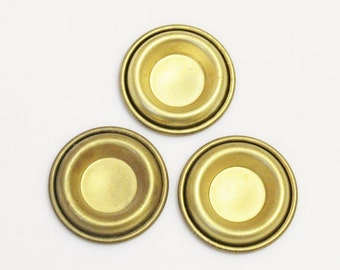 Large Brass Findings,Jewelry Findings Made in USA , Unusual Jewelry Components (FDS-90)