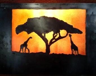 Metal Wall lamp Africa