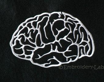 Brain 0001 - machine embroidery designs / Set
