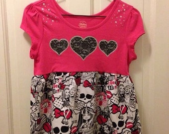 CLEARANCE Sale***Monster High tunic girls 14-16