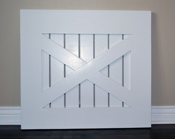 Painted Rustic Baby Gate