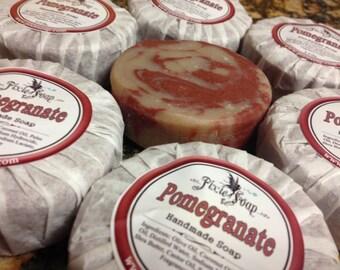 Pomegranate Natural Vegan Soap