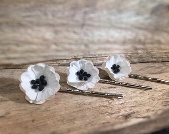 Petite Country Flower Hair Pin