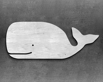 Any Size Long Whale wooden whale sign -nautical whale -nursery decor -beach house -above crib -Ocean Nursery Decoration Whale Decor