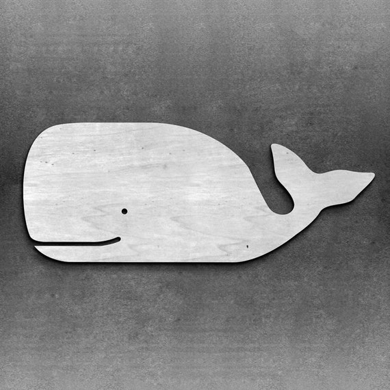 Wood Whale Wall Decor Beach Nautical Decor Nautical Art