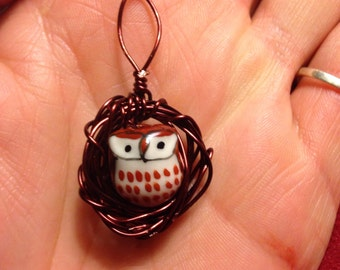 Owls Nest Pendant