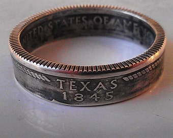90% Silver State quarter Coinring