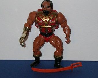 Vintage 1980s Mattel Masters of the Universe Jitsu Figure