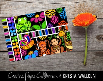 Bold and Bright: Post Card Pack (30 count)