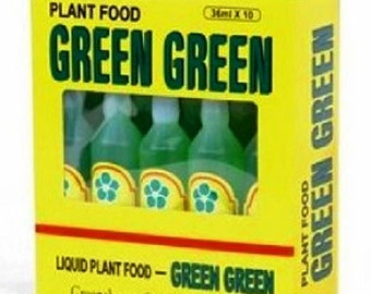 Green Green Plant Food Case (10 Bottles) (FREE SHIPPING)
