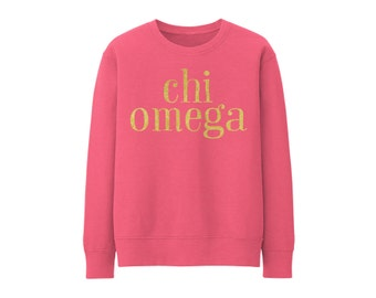 ChiO Chi Omega Choose Your Colors Sorority Sweatshirt
