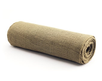 30ft Burlap Roll for Table Runners, Place Mats, Party Decor, Home Decor - Heavy-Weight 14in wide