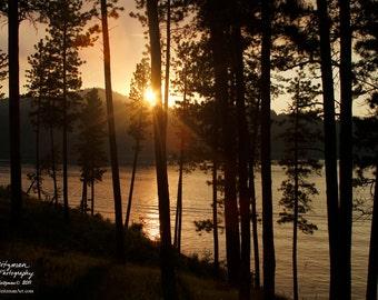 Sunset Photography Black Hills South Dakota Sheridan Lake Photo by Nicole Heitzman