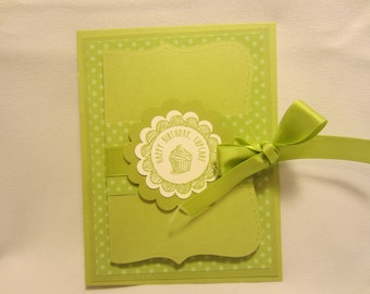 Cupcake Birthday Gift Card Holder
