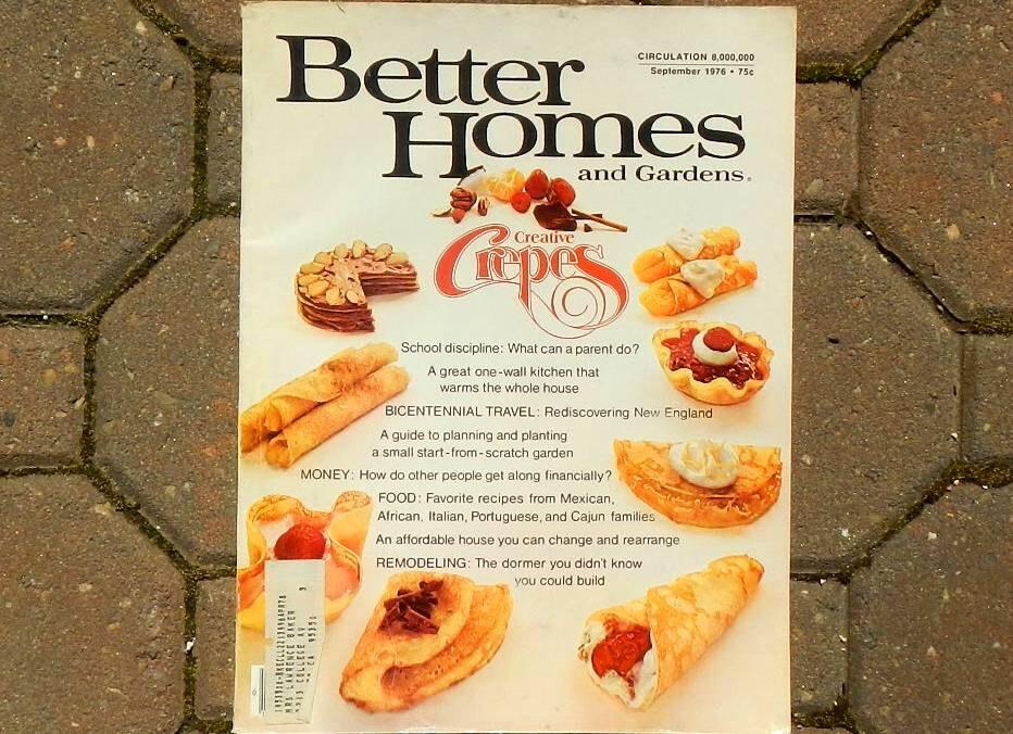 Vintage Better Homes And Gardens Magazine September 1976 Haute Juice