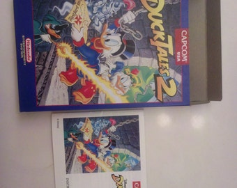 Duck Tale's 2 Box and Manual